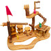 Q Toys 24 Piece Wooden Tree House Play Set