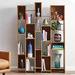 Sauder Pale Oak Soft Modern Wall Shelf