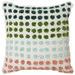J. Elliot Multi-Colour Dottie Cotton Cushion