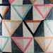 Kas Geometric Ondes Cotton Cushion