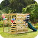 Plum Children's Climbing Cube & Slide