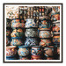 Our Artists' Collection Mexican Pots Printed Wall Art