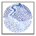 Our Artists' Collection Prato Blues Printed Wall Art by Giulia Di Sipio