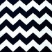 Ground Work Rugs Black Chevron Hand-Knotted Cotton Rug