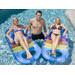 Splash Time Blow-Up Stripy Pool Lounge
