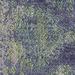 Colorscope Lime Abrasion Ikat Rug