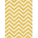 Atlas Flooring Lemon Elle Chevron Rug