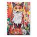 Americanflat Autumn Fox Printed Wall Art