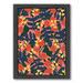 Americanflat Polka Floral Printed Wall Art