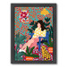 Americanflat Waiting Girl Printed Wall Art