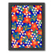 Americanflat Red Flowers Printed Wall Art