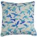 Rovan Blue Birds Cotton Cushion