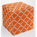 Home & Lifestyle Tangier Pouf in Carrot