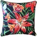 Glamour Paradise Tigerlily Tropical Outdoor Cushion