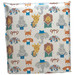 Custom Bedheads Zoo Animals Bedhead With Reversible Slip Cover