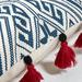 Linea Furniture Quin Cotton Rectangular Cushion