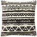 Linea Furniture Tribal Print Tara Cotton Cushion