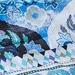 Luxotic Teal Eva Cotton Quilt Cover Set