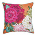 Luxotic Bella Rosa Tangerine Cushion Feather Filled