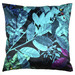 Luxotic Teal Ghost Velvet Floor Cushion