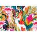Art Illusions Parrots & Palms Canvas