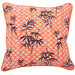 Canvas & Sasson Bermuda Orange Bamboo Cushion