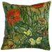 Bedding House Green Van Gogh Coquelicot Cushion