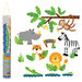 Stephen Joseph Zoo Wall Decal