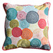 Bella Casa Printed Circles Orb Cotton Cushion