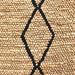 Temple & Webster Natural & Black Loft Hand-Woven Rug