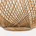 Temple & Webster Natural Luna Rattan 56cm Tall Pendant Light