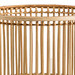 Temple & Webster Goldie Rattan Planter & Metal Stand