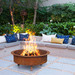 Collective Sol Rust Kalahari Tripod Fire Pit