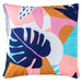 Sunday Homewares Bright Foliage Collage Outdoor Cushion
