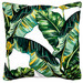 Sunday Homewares Tropical Leaves I Outdoor Cushion
