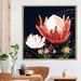 Iconiko Bluebell Fleura Framed Acrylic Wall Art