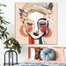 Iconiko Dotti Framed Canvas Wall Art