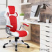 Dwell Home 2 Tone Jadon Faux Leather Office Chair