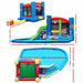 Dwell Kids Kids' Happy Hop Outdoor Inflatable Castle Water Slide