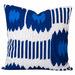 Cushion Bazaar Blue Ikat Bayou Cushion