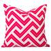 Cushion Bazaar Pink Watermelon Geometric Zedd Cushion