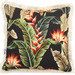 Sway Living Black Tropical Spice Cushion
