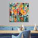 Anna Blatman Palette Poppies Canvas Wall Art