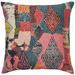 Weave Multi-Coloured Joplin Velvet Cushion