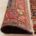 The Handmade Collection Black & Red Wool Kolyaei Rug