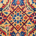 The Handmade Collection Red & Blue Wool Indian Rug