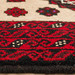The Handmade Collection Red & Cream Wool Balouchi Rug