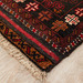The Handmade Collection Mahogany Hand-Knotted Wool Balouchi Rug