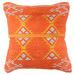 Bohemia & Co Terracotta & Cream Embroidered Cotton Cushion