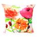 Bohemia & Co 3 Flowers Cotton Cushion